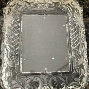 Mikasa Large Vintage Crystal Photo/Picture Frame